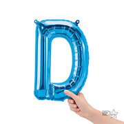 16″ LETTER D - BLUE (AIRFILL ONLY)