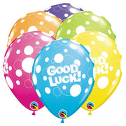 11″ GOOD LUCK DOTS