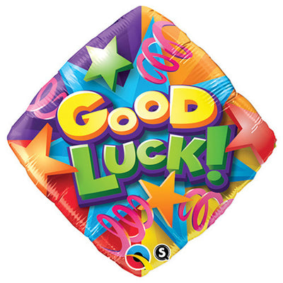 18″ GOOD LUCK STARS & STREAMERS