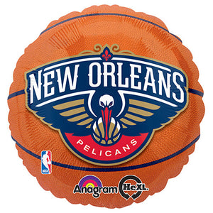 18″ NBA NEW ORLEANS PELICANS BASKETBALL
