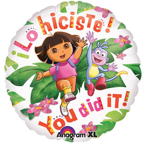 18″ DORA THE EXPLORER - YOU DID IT