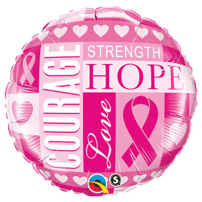 18″ BREAST CANCER INSPIRATIONS