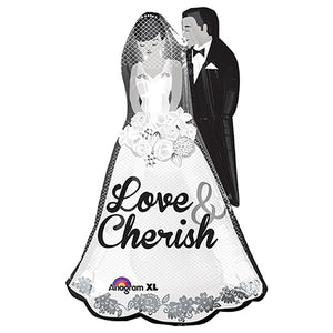 34″ LOVE AND CHERISH COUPLE