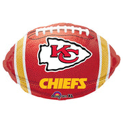 17″ NFL KANSAS CITY CHIEFS FOOTBALL TEAM COLORS