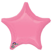 19″ STAR - BRIGHT BUBBLE GUM PINK