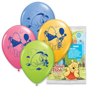 12″ POOH HAPPY BIRTHDAY (6 PK)