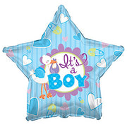 17″ IT'S A BOY STORK STAR