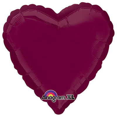 18″ HEART - BERRY
