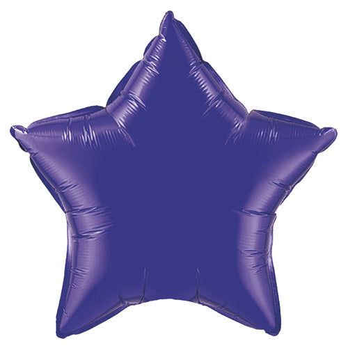 36″ STAR - QUARTZ PURPLE