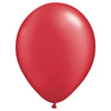 5″ QUALATEX PEARL RUBY RED