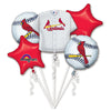 ST LOUIS CARDINALS BOUQUET