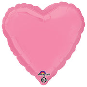 18″ HEART - BRIGHT BUBBLE GUM PINK