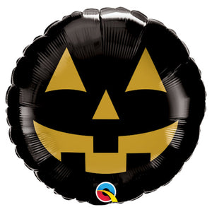 18″ JACK FACE BLACK & GOLD