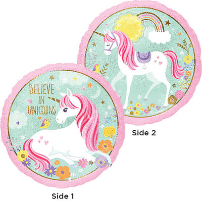 18″ HOLOGRAPHIC MAGICAL UNICORN