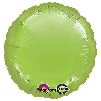 18″ CIRCLE - METALLIC LIME GREEN