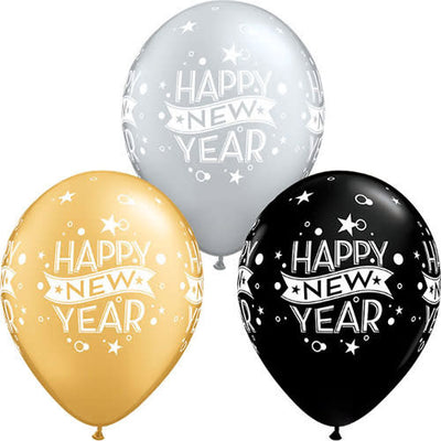 11″ ASSORTED NEW YEAR CONFETTI DOTS