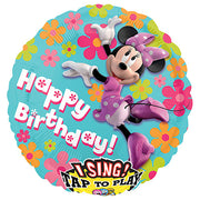 28″ MINNIE MOUSE HAPPY BIRTHDAY SING-A-TUNE