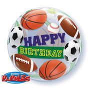 22″ BUBBLE - BIRTHDAY SPORT BALLS