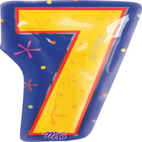 20″ NUMBER 7 - MULTI-COLOR