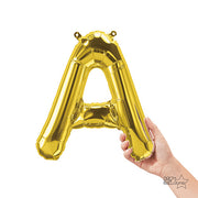 16″ LETTER A - GOLD (AIR-FILL ONLY)