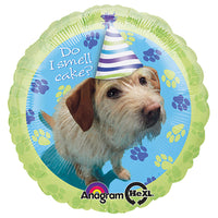 18″ PARTY PUPS BIRTHDAY