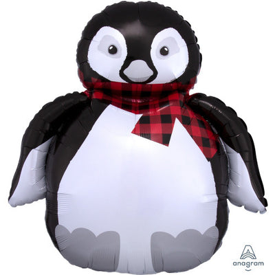 28″ COZY HOLIDAY PENGUIN