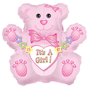 32″ ITS A GIRL BEAR SHAPE