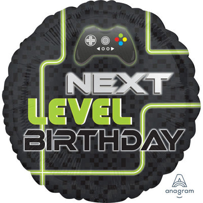 17″ LEVEL UP BIRTHDAY
