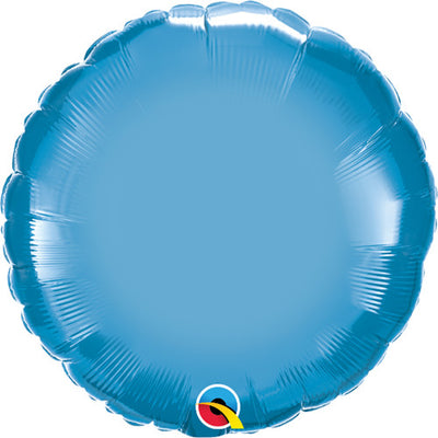 18″ CIRCLE - CHROME BLUE