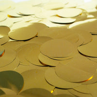 METALLIC CONFETTI - GOLD