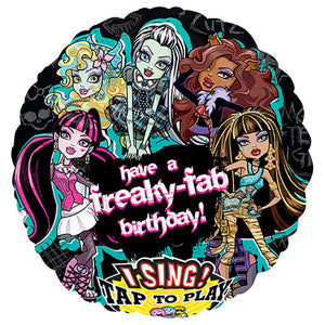 28″ MONSTER HIGH BIRTHDAY SING-A-TUNE