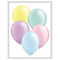 5″ QUALATEX PASTEL PEARL ASSORTMENT