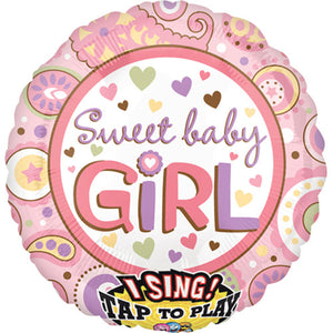 28″ SWEET BABY GIRL SING-A-TUNE
