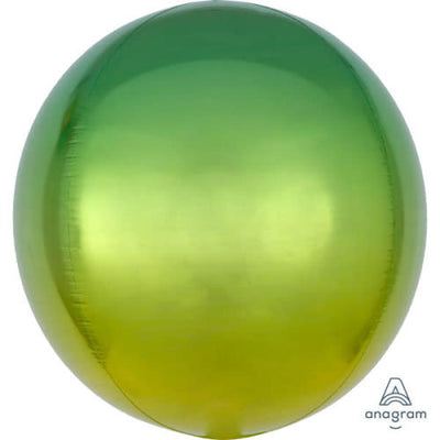 16″ OMBRE ORBZ - YELLOW & GREEN