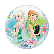 12″ BUBBLE - FROZEN FEVER (AIR-FILL ONLY)  Pack of 10