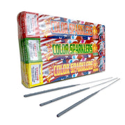 "10"" ASSORTED COLORS SPARKLERS (96 PK)"