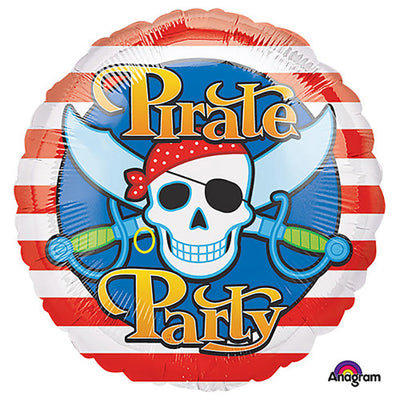 17″ PIRATE PARTY