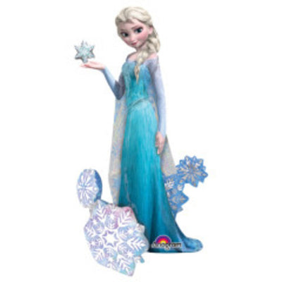 57″ ELSA THE SNOW QUEEN FROZEN AIRWALKERS