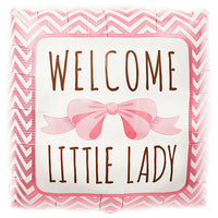 18″ WELCOME LITTLE LADY