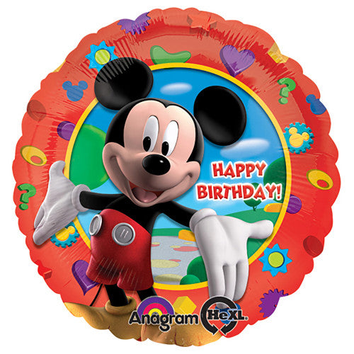 18″ MICKEY'S CLUBHOUSE BIRTHDAY