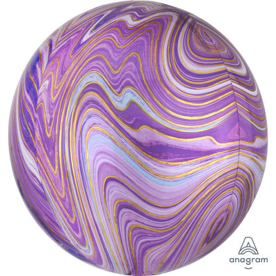 16″ ORBZ - PURPLE MARBLEZ