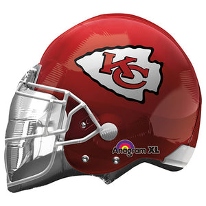 21″ NFL KANSAS CITY CHIEFS FOOTBALL HELMET