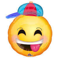 21″ HAPPY EMOTICONS WITH HAT