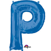 34″ LETTER P - ANAGRAM - BLUE