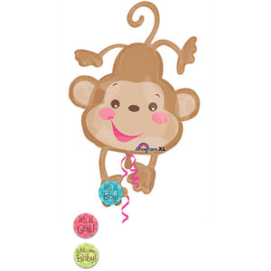 40″ FISHER PRICE BABY MONKEY SUPERSHAPE