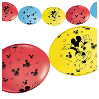 12″ PARTY BANNER - MICKEY MOUSE (10 PK)