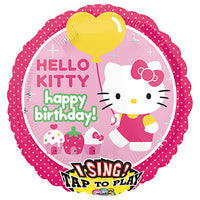 28″ HELLO KITTY BIRTHDAY SING-A-TUNE