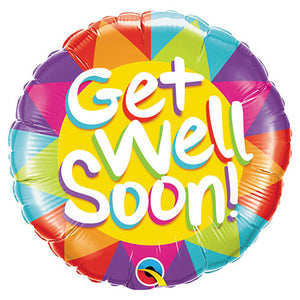 18″ GET WELL SOON SUNSHINE