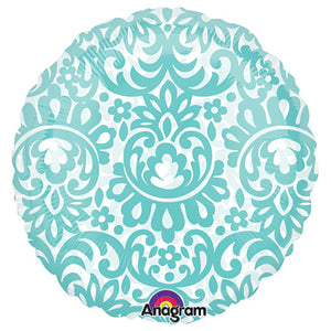 18″ CIRCLE - ROBINS EGG BLUE TAPESTRY