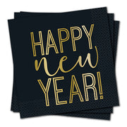 ROARING NEW YEARS LUNCHEON NAPKINS (16 PK)